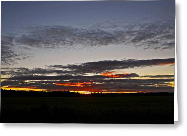 Himmel Greeting Cards - Good Morning Laurentians ...  Greeting Card by Juergen Weiss