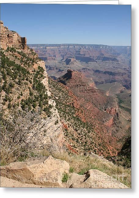 Audrey Campion Greeting Cards - Grand Canyon National Park Arizona Usa Greeting Card by Audrey Campion