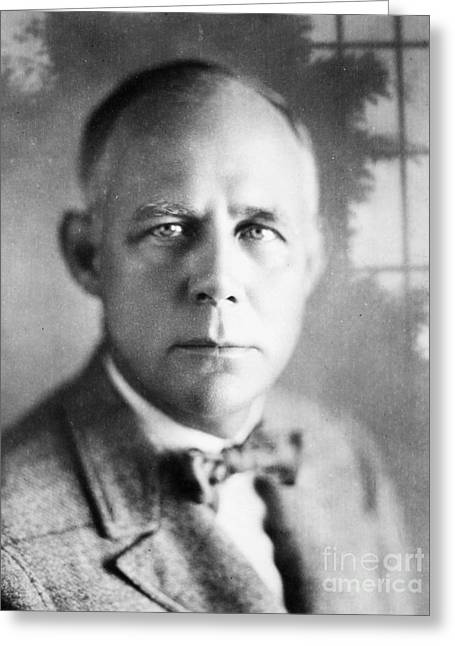 Bowtie Greeting Cards - Grantland Rice (1880-1954) Greeting Card by Granger