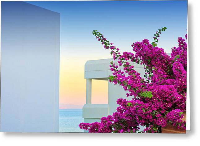 Mesta Greeting Cards - Greece 3  Greeting Card by Emmanuel Panagiotakis