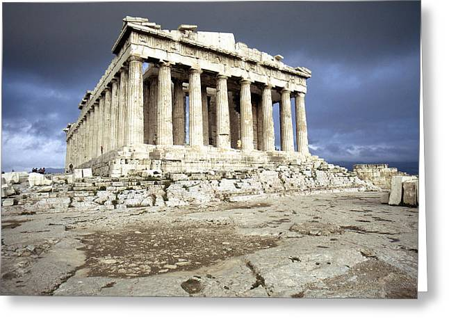 5th Century Bc; Greeting Cards - Greece: Parthenon Greeting Card by Granger