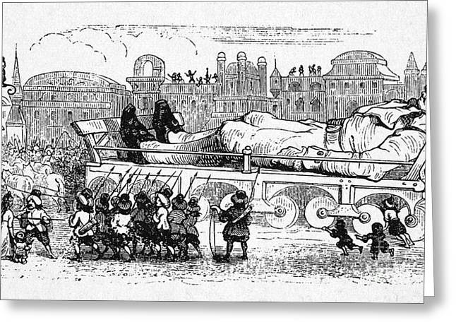 Gullivers Greeting Cards - Gullivers Travels Greeting Card by Granger