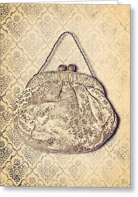 Evening Handbag Greeting Cards - Handbag Greeting Card by Joana Kruse