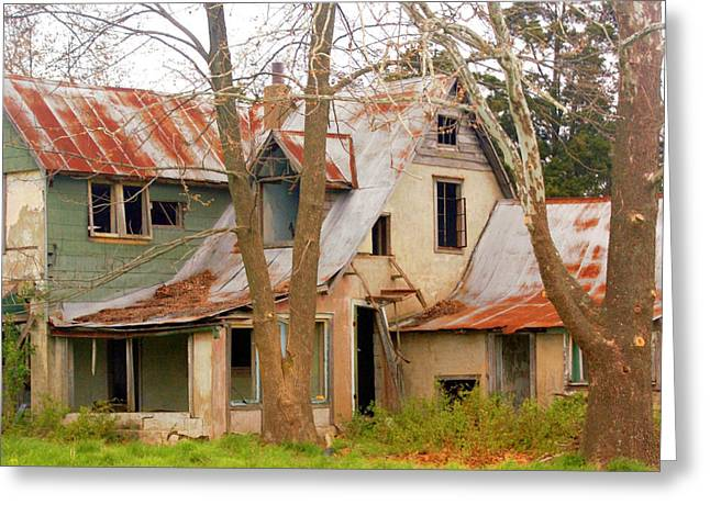 Marty Koch Photographs Greeting Cards - Haunted House Greeting Card by Marty Koch