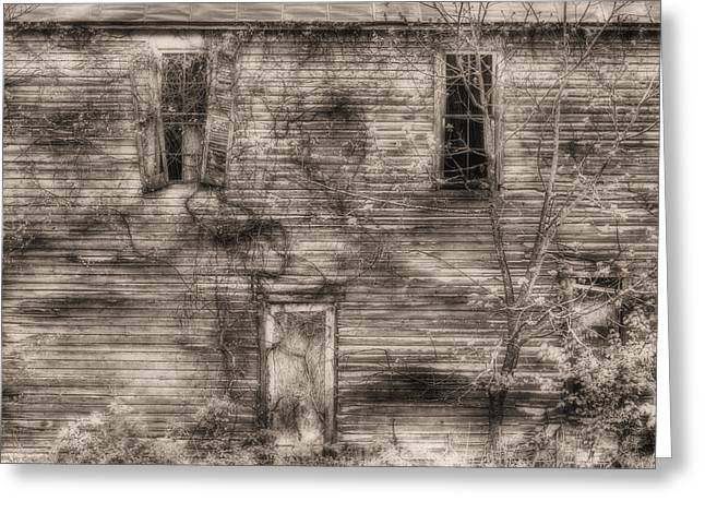 Bristersburg Virginia Greeting Cards - Haunting  Greeting Card by JC Findley