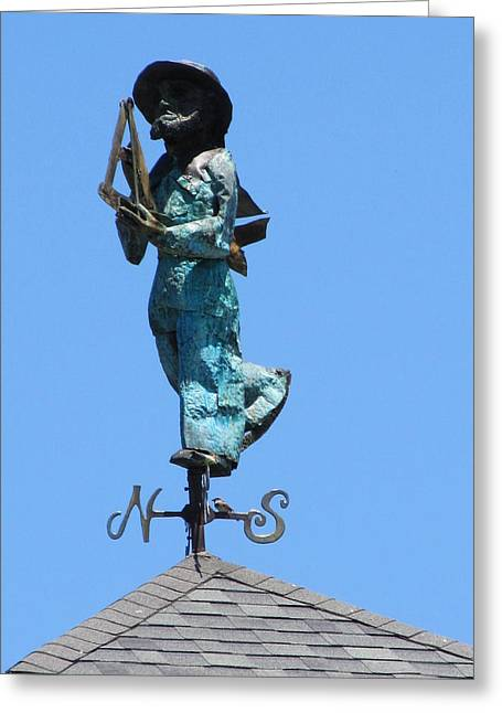 Weathervane Greeting Cards - Heading Home Greeting Card by Loretta Pokorny