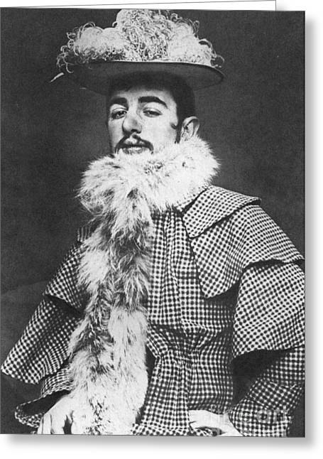 Photograph Of Painter Greeting Cards - Henri De Toulouse-lautrec Greeting Card by Granger