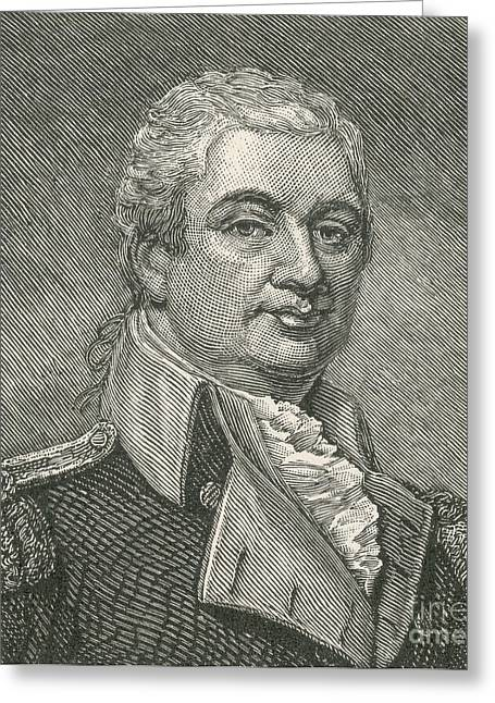 National Portrait Gallery Greeting Cards - Henry Knox Greeting Card by Photo Researchers