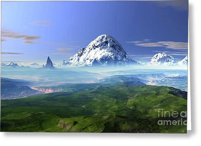 Himalayas Greeting Cards - Himalayas Greeting Card by Heinz G Mielke