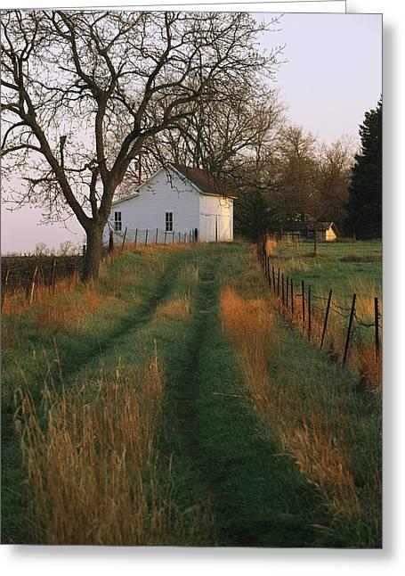 Outbuildings Greeting Cards - Historic Stevens Creek Farm Greeting Card by Joel Sartore