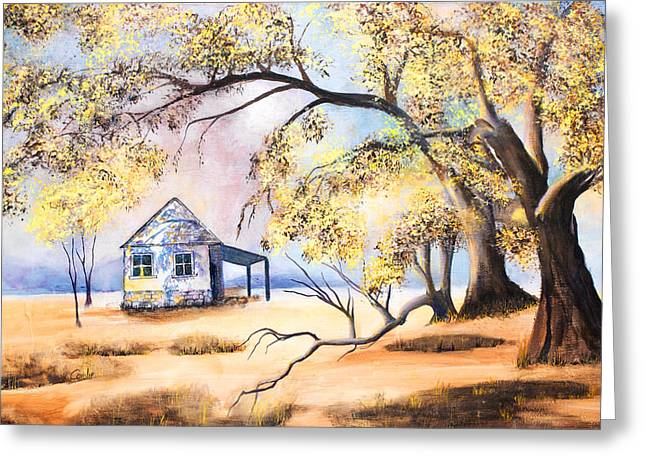 Home Home On The Range Greeting Card by Coralie Smyth