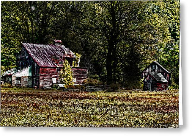 Tennessee Farm Digital Greeting Cards - Home Sweet Home Greeting Card by EricaMaxine  Price