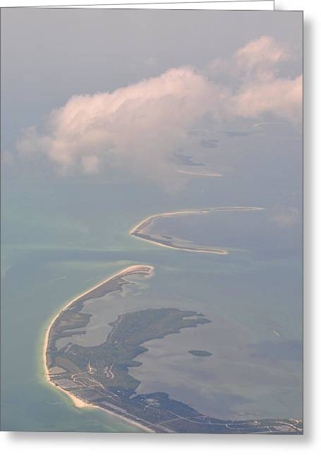 Navigational Greeting Cards - Honeymoon Island Greeting Card by Peter  McIntosh