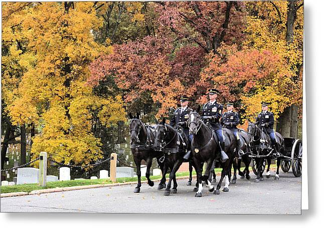 Arlington Greeting Cards - Honor Greeting Card by JC Findley