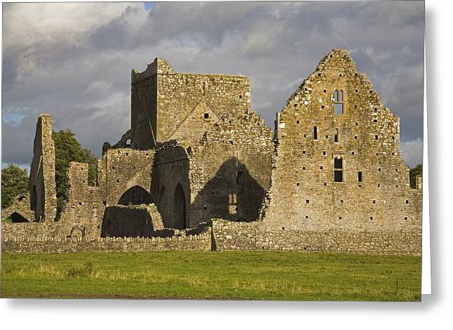 Hores Greeting Cards - Hore Abbey, Cashel, County Tipperary Greeting Card by Richard Cummins