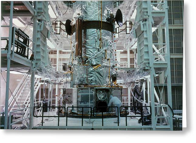 Hubble Space Telescope Greeting Card by NASA/Science Source