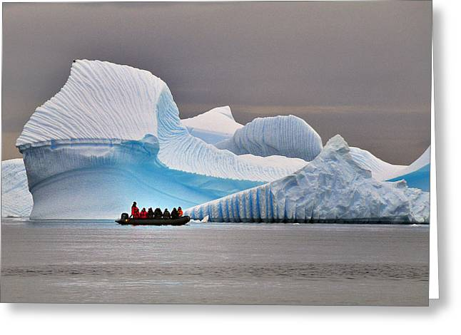 Ice Sculpture Greeting Cards - Ice Ice Baby Greeting Card by Tony Beck