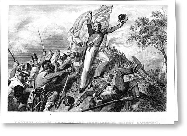 Bayonet Photographs Greeting Cards - India: Sepoy Rebellion, 1857 Greeting Card by Granger