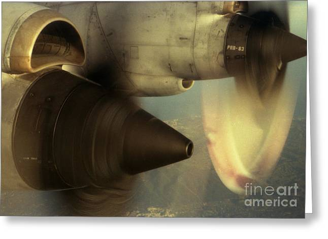 Propeller Photographs Greeting Cards - Intake No.2 Greeting Card by Sean Cupp