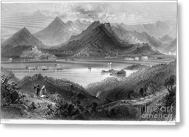 Mountain Road Greeting Cards - Ireland: Glengarriff Greeting Card by Granger
