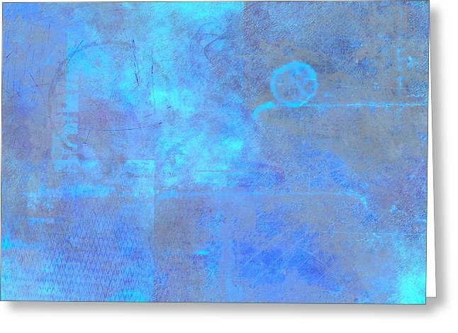Iridescent Aquamarine Greeting Card by Christopher Gaston