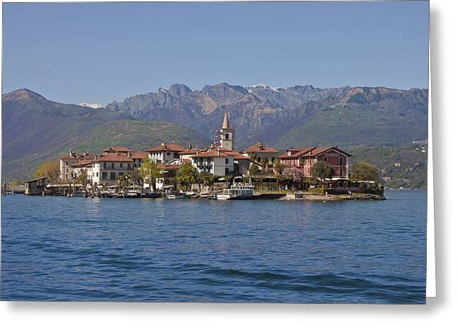 Borromeo Greeting Cards - Isola dei Pescatori Greeting Card by Joana Kruse