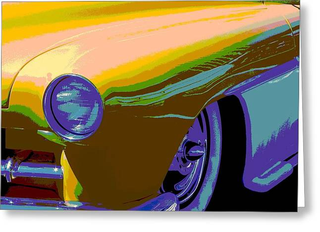 50 Merc Greeting Cards - Its Chopped Greeting Card by Chuck Re
