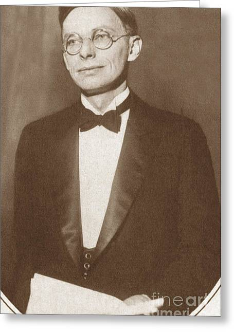 Bryant Greeting Cards - James Bryant Conant, American Chemist Greeting Card by Science Source