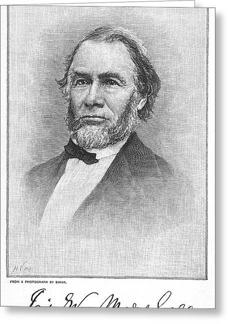Discoverer Greeting Cards - James Wilson Marshall Greeting Card by Granger