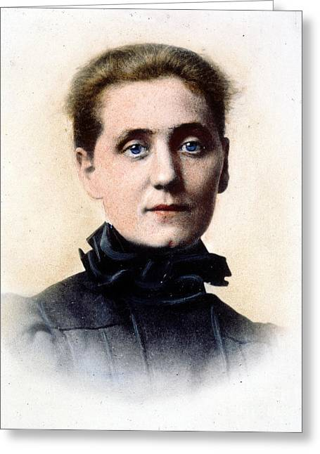 Reformer Greeting Cards - Jane Addams (1860-1935) Greeting Card by Granger