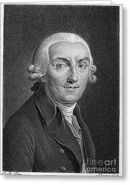 Francois Greeting Cards - Jean Marmontel (1723-1799) Greeting Card by Granger