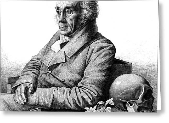 Carbon Dioxide Greeting Cards - Johann Blumenbach, German Physiologist Greeting Card by Science Source