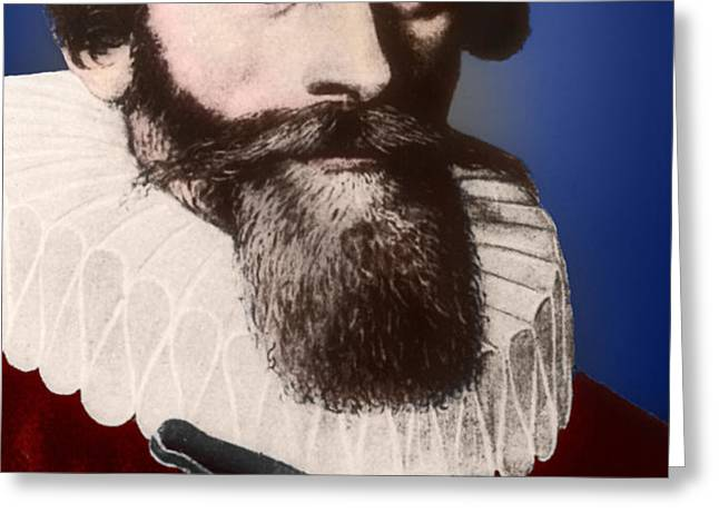 Johannes Kepler, German Astronomer Greeting Card by Science Source