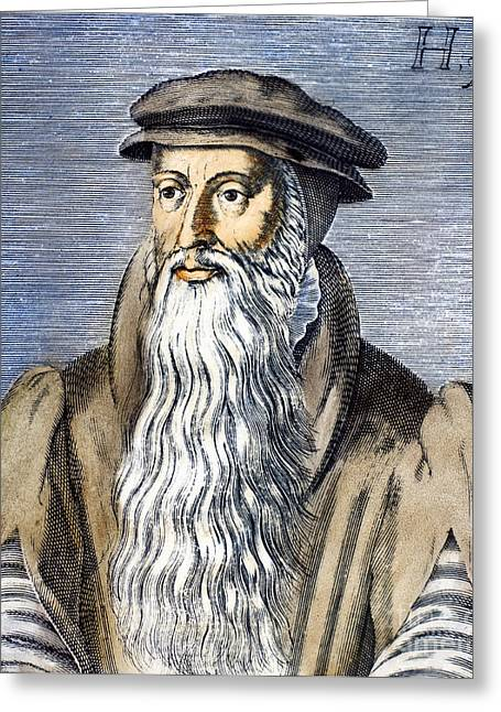 Reformer Photographs Greeting Cards - John Knox (1505-1572) Greeting Card by Granger