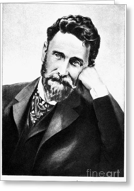 Pulitzer Greeting Cards - Joseph Pulitzer (1847-1911) Greeting Card by Granger