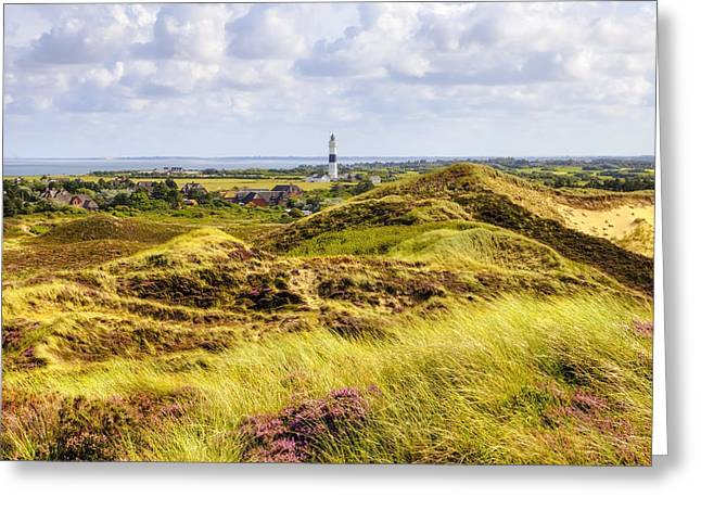 Reserve Greeting Cards - Kampen - Sylt Greeting Card by Joana Kruse