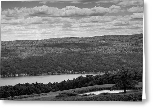 Finger Lakes Greeting Cards - Keuka Landscape III Greeting Card by Steven Ainsworth