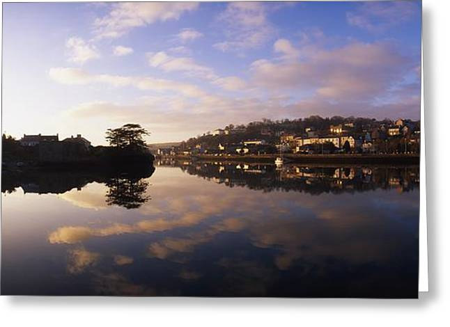 Serene Setting Greeting Cards - Kinsale Harbour, Co Cork, Ireland Greeting Card by The Irish Image Collection