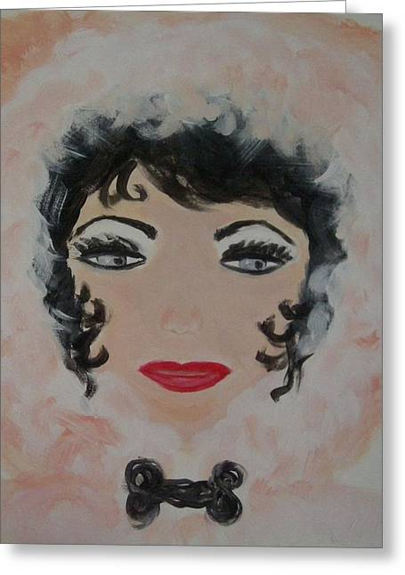 Absorb Paintings Greeting Cards - La shai in Switzerland Greeting Card by Marie Bulger