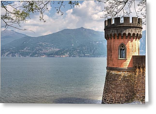 Italian Lake Greeting Cards - Lago di Como Greeting Card by Joana Kruse