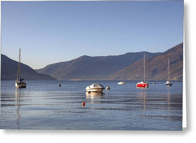 Lago Greeting Cards - Lago Maggiore Greeting Card by Joana Kruse