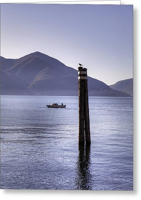 Ticino Greeting Cards - Lake Maggiore Greeting Card by Joana Kruse