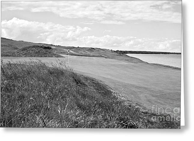 Wisconsin Golf Greeting Cards - Lakeside Beauty Greeting Card by Scott Pellegrin