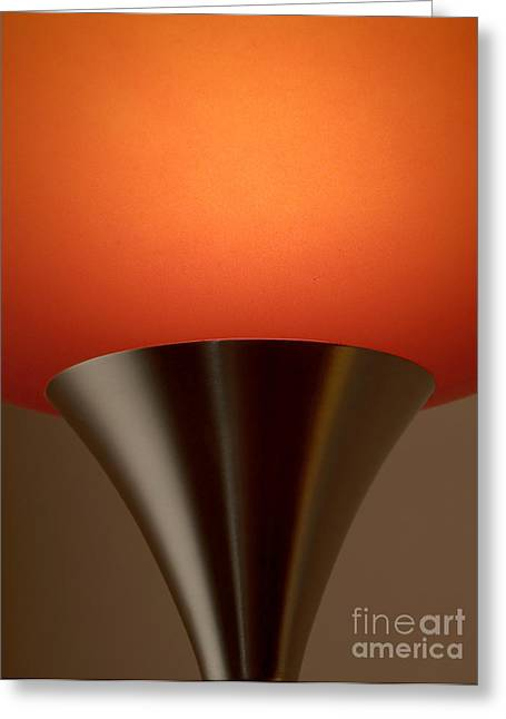Negotiating Greeting Cards - Lamp Greeting Card by Odon Czintos
