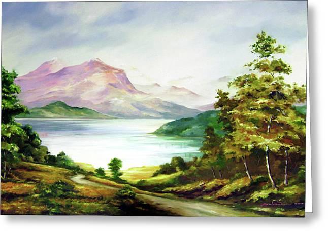 Landscape Greeting Card by Seni