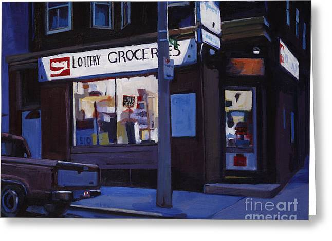 South Boston Greeting Cards Greeting Cards - Last Call Greeting Card by Deb Putnam