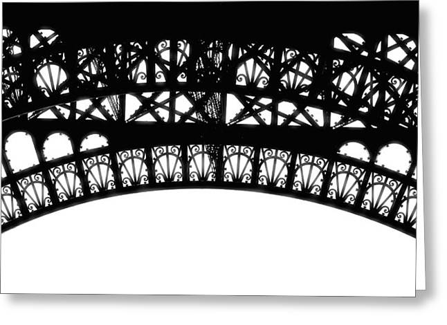 Puddle Iron Greeting Cards - Latticework Greeting Card by JAMART Photography