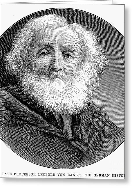 Leopold Greeting Cards - LEOPOLD von RANKE Greeting Card by Granger