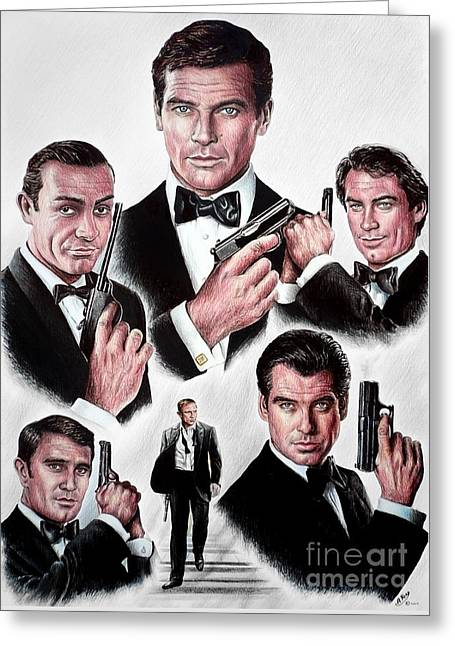 Licence To Kill Greeting Card by Andrew Read