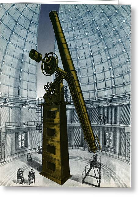 Telescope Domes Greeting Cards - Lick Observatory, Mount Hamilton, Ca Greeting Card by Science Source